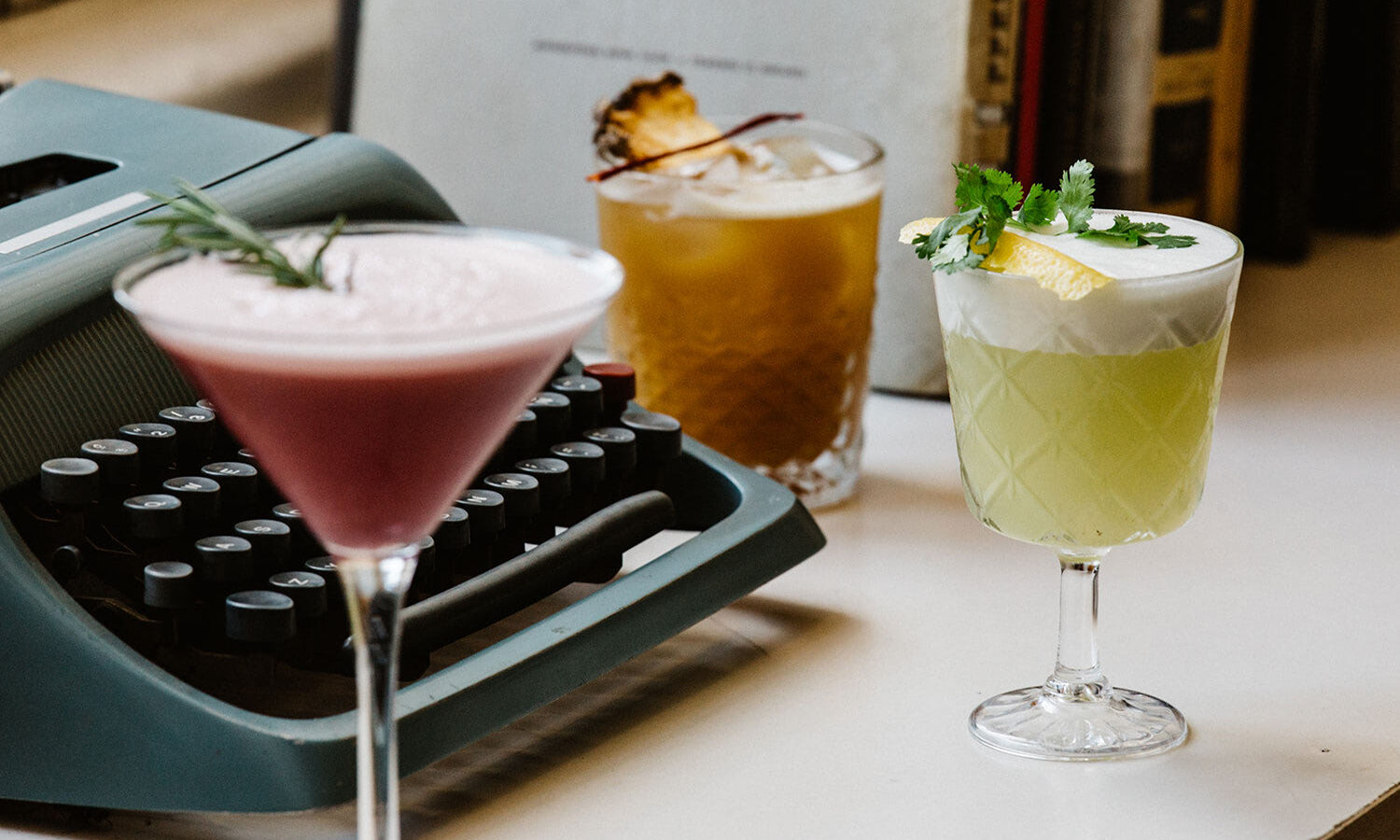 The Decadente Cocktails